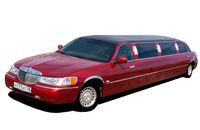 # 004 Lincoln Town Car Red